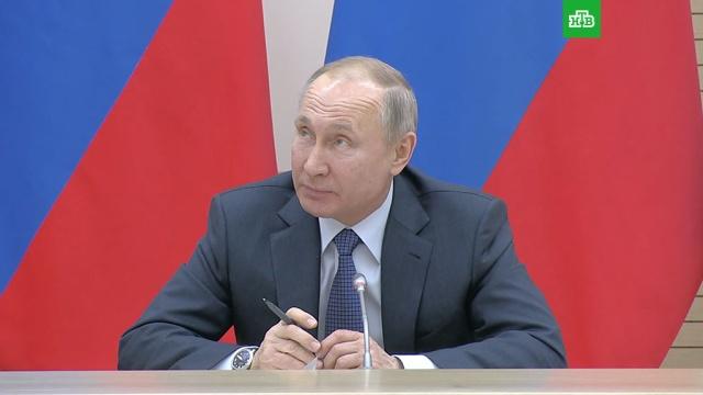«Не будет родителя №1и №2»: Путин— об идее закрепить структуру семьи вКонституции.Путин, дети и подростки, законодательство, конституции, семья.НТВ.Ru: новости, видео, программы телеканала НТВ