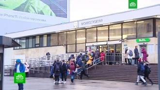 ВПетербурге обсуждают, где строить второй вестибюль станции метро «Василеостровская»