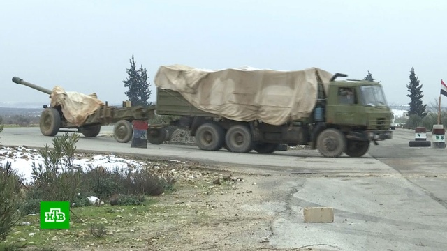 ВСирии полностью восстановлено движение по трассе Аллепо— Дамаск.Сирия, войны и вооруженные конфликты.НТВ.Ru: новости, видео, программы телеканала НТВ