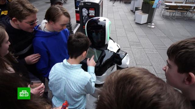 Следы коронавируса вНью-Йорке ищет собранный вРоссии робот.США, болезни, роботы, технологии, эпидемия.НТВ.Ru: новости, видео, программы телеканала НТВ