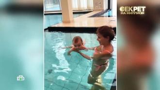 Наталья Штурм впервые показала своего внука