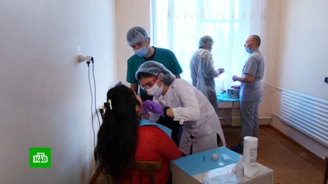 Студент-стоматолог бесплатно лечит зубы жителям Северной Осетии.медицина, Северная Осетия.НТВ.Ru: новости, видео, программы телеканала НТВ