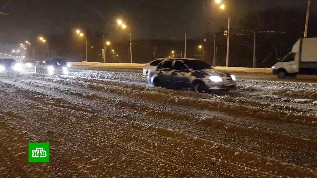 В Башкирии замело дороги к населенным пунктам.Башкирия, зима, снег.НТВ.Ru: новости, видео, программы телеканала НТВ