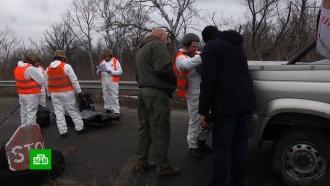 Луганск передал Киеву тело подорвавшегося на мине военного