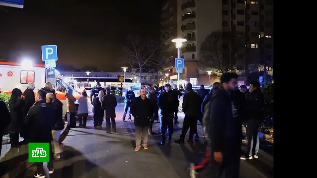 «Будто кино»: жители Ханау шокированы массовым убийством в городе.Германия, смерть, стрельба, терроризм.НТВ.Ru: новости, видео, программы телеканала НТВ