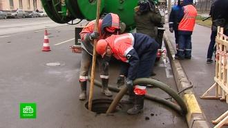 Петербургский «Водоканал» готовится к весенним паводкам