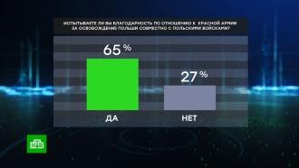 Опрос: большинство поляков благодарны Красной армии