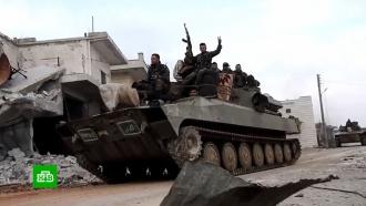 Из Турции вИдлиб идут многокилометровые колонны военной техники