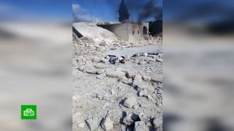 ВКС РФ нанесли удар по террористам вСирии