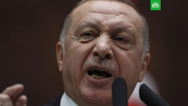 Эрдоган заявил Путину о необходимости сдерживания сирийских военных в Идлибе.Президент Владимир Путин провел телефонный разговор с турецким коллегой Реджепом Тайипом Эрдоганом.США, Сирия, Турция, войны и вооруженные конфликты, вооружение.НТВ.Ru: новости, видео, программы телеканала НТВ