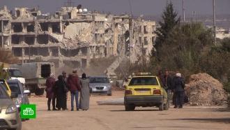 Вкварталах Алеппо восстановили телефонную связь иоткрыли магазины.НТВ.Ru: новости, видео, программы телеканала НТВ