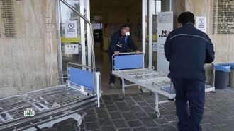 Эпидемия коронавируса: появились первые <nobr>жертвы-европейцы</nobr>