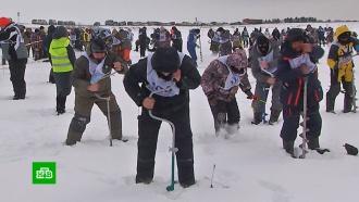 На Сахалине прошли спортивные состязания по скоростной рыбной ловле