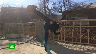 Дагестанец удержал гирю без помощи рук иустановил мировой рекорд