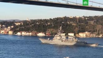 ВМС США объяснили визит ракетного эсминца вЧёрное море