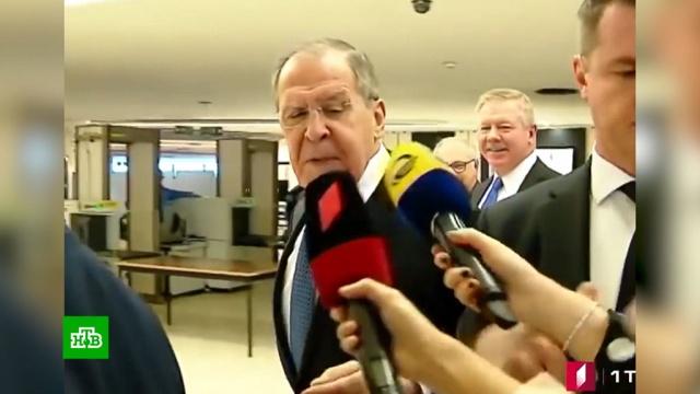 «Вы больные, девочки»: Лавров осадил грузинских журналисток.Грузия, Лавров, МИД РФ, ООН, дипломатия, журналистика.НТВ.Ru: новости, видео, программы телеканала НТВ