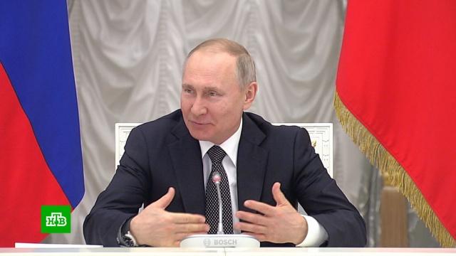 Путин: внесено около 900предложений по поправкам вКонституцию.Путин, законодательство, конституции.НТВ.Ru: новости, видео, программы телеканала НТВ