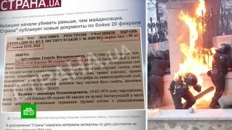 На Украине опубликовали новые свидетельства о массовых убийствах на Майдане