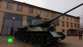 Исторические танки Т-34 готовят к параду Победы