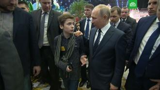 Воспитанник детского дома попросил Путина помочь ему вернуться к родным