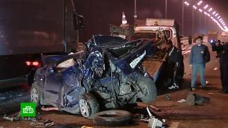 Оформление аварий на МКАД: водители вынуждены рисковать деньгами или жизнью.НТВ.Ru: новости, видео, программы телеканала НТВ