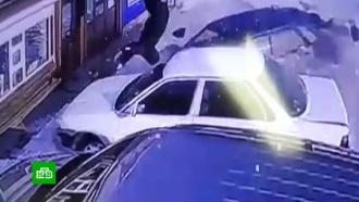 ВИркутске очевидцы не дали сбежать сбившему женщину водителю