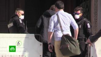 Во Франции из-за коронавируса базу ВВС закрыли на карантин.НТВ.Ru: новости, видео, программы телеканала НТВ