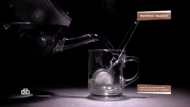 Опасноли разбавлять чай некипяченой водой?НТВ.Ru: новости, видео, программы телеканала НТВ