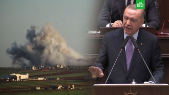 Эрдоган предложил Путину оставить Турцию «один на один» сСирией