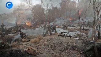 Неравный бой вАргунском ущелье