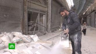 Всирийском Алеппо заработал знаменитый крытый рынок
