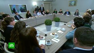 Конституция, школы ипарашюты: очем Путин говорил сжителями Иваново