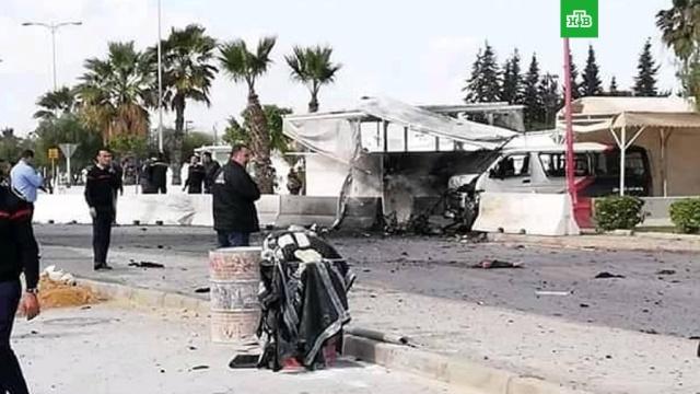 Посольство США вТунисе атаковали смертники.США, Тунис, взрывы, дипломатия, терроризм.НТВ.Ru: новости, видео, программы телеканала НТВ