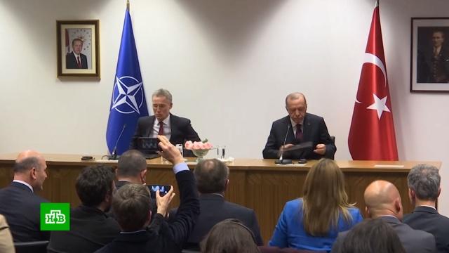 Генсек НАТО отказал Турции вдополнительной помощи по Сирии.Европейский союз, НАТО, Сирия, Турция, Эрдоган, беженцы, мигранты.НТВ.Ru: новости, видео, программы телеканала НТВ