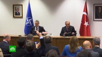 Генсек НАТО отказал Турции вдополнительной помощи по Сирии