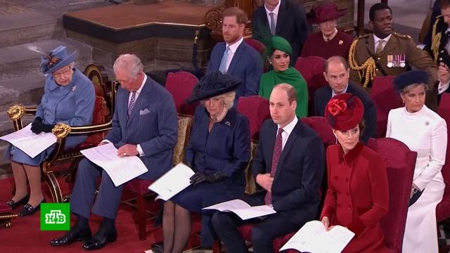 Последний выход по-королевски: британцы разглядели тайный знак внаряде Меган Маркл.Великобритания, знаменитости, монархи и августейшие особы, принц Гарри.НТВ.Ru: новости, видео, программы телеканала НТВ
