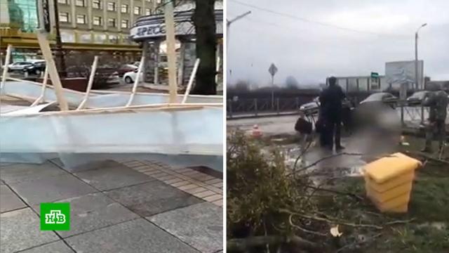 Убийственный ураган из Калининградской области идет вцентральную часть России.Москва, погода, стихийные бедствия, штормы и ураганы.НТВ.Ru: новости, видео, программы телеканала НТВ