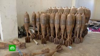 Впригороде Алеппо сирийские военные нашли оружейную фабрику боевиков