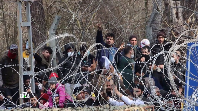 Мигрантский кризис 2.0: чем закончится противостояние Турции иЕС.Греция, Европейский союз, Турция, мигранты.НТВ.Ru: новости, видео, программы телеканала НТВ