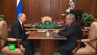 Костин сообщил Путину о планах увеличить прибыль ВТБ