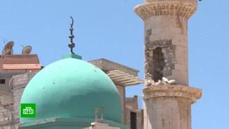 ВСирии открылась восстановленная силами российских военных мечеть