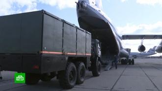 РФ отправила в Италию тесты, лекарства и комплексы для дезинфекции улиц