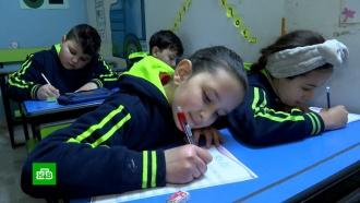 Всирийских школах возобновили уроки русского языка