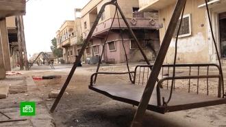 Сирийцы возвращаются внекогда процветающий город вокрестностях Пальмиры