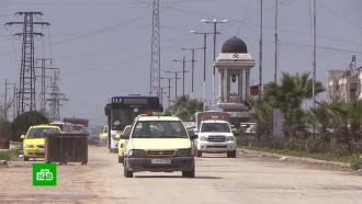 На освобожденные от боевиков окраины Алеппо возвращаются мирные жители