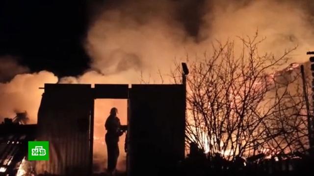Семь человек сгорели заживо в частном доме в Пензенской области.Пензенская область, пожары, смерть.НТВ.Ru: новости, видео, программы телеканала НТВ