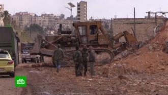 Впромышленном районе Алеппо начали восстанавливать фабрики изаводы