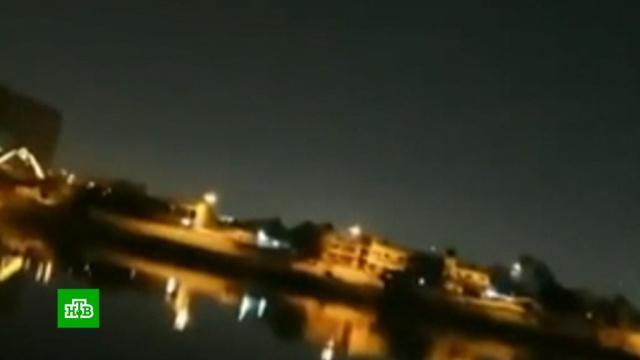 Несколько ракет разорвались упосольства США вБагдаде.Багдад, Ирак, войны и вооруженные конфликты, дипломатия.НТВ.Ru: новости, видео, программы телеканала НТВ