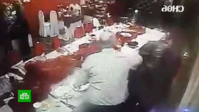 Появилось видео убийства жениха на свадьбе в Нижневартовске.НТВ.Ru: новости, видео, программы телеканала НТВ