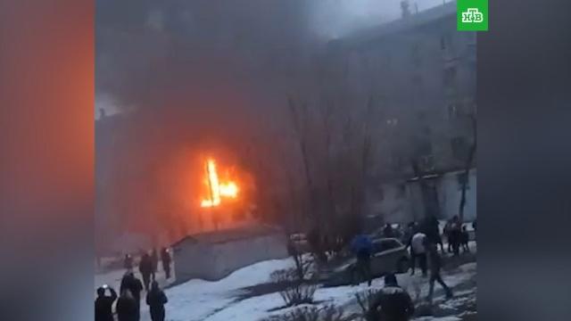 Взрыв и пожар в Магнитогорске: есть жертвы.Магнитогорск, взрывы газа, пожары.НТВ.Ru: новости, видео, программы телеканала НТВ